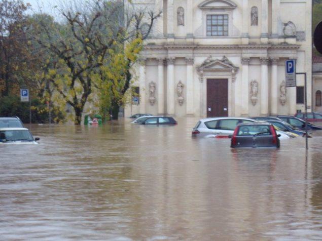 Alluvione Vicenza 1 novembre 2010 3