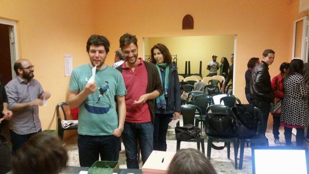 I consiglieri di BL partecipano all'elezione del nuovo direttivo (foto di Leandro Ricciardi)