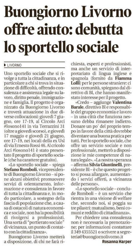 Il Tirreno 5/5/2018